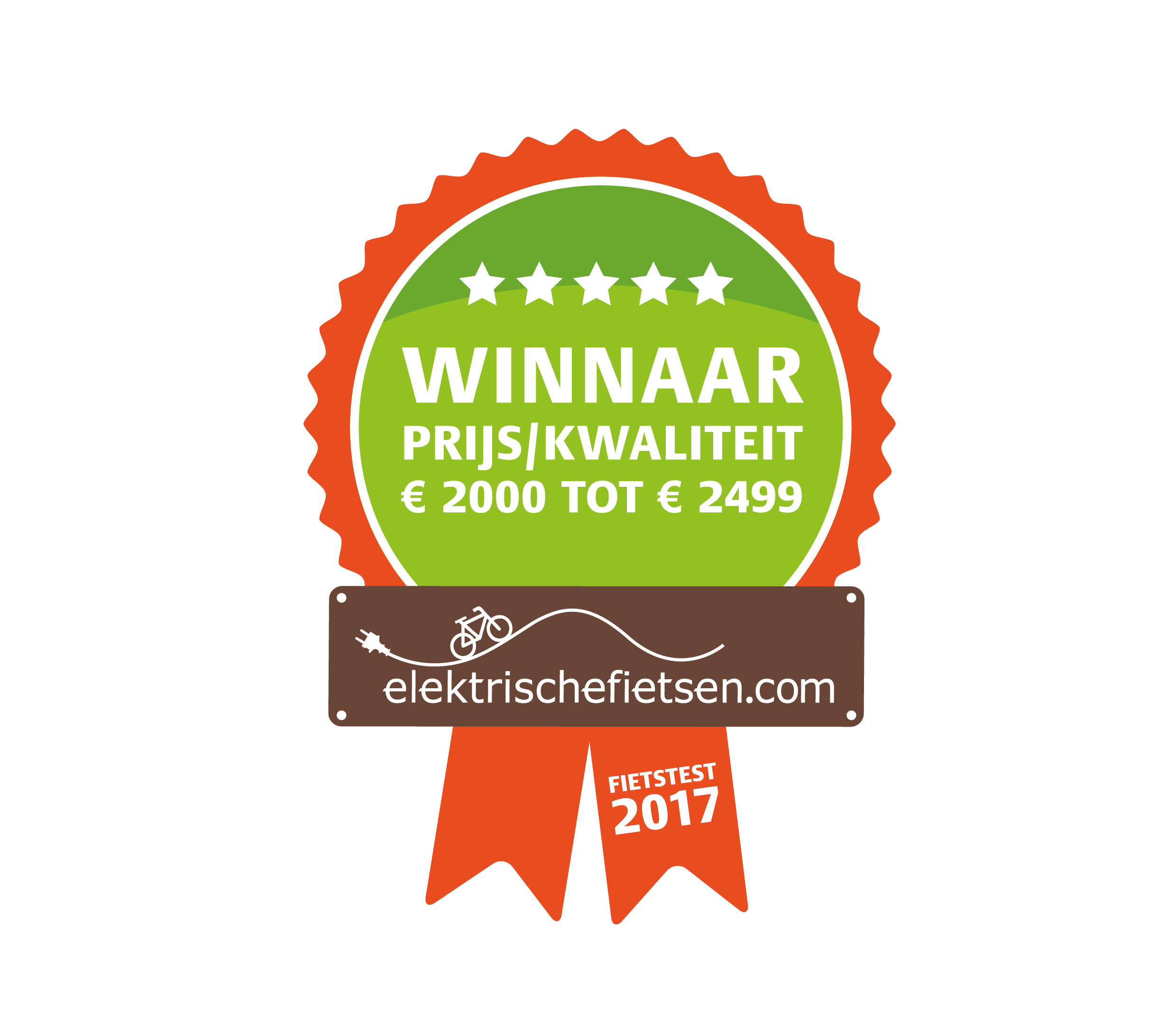 WINNAAR ''NeXt'' e-bike test 2017